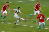 Eden Hazard sparkles as Belgium crush Hungary to set up Wales quarter-final