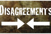 Disagreement can become an act of love and reconciliation