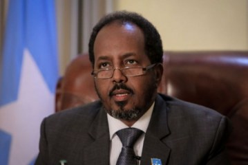 Somalia's president recently held first-ever meeting with Israeli PM