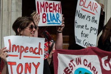 TONY BLAIR TO BE PROSECUTED FOR WAR CRIMES IN IRAQ?