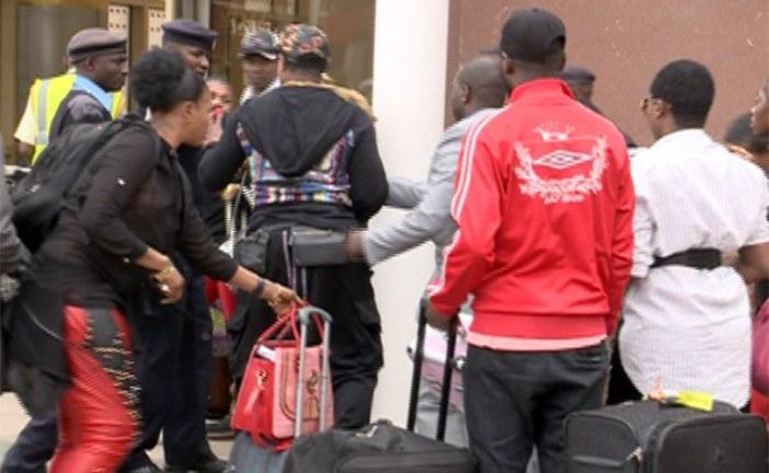 Congolese singer Koffi Olomide caught 'kicking female dancer' in Kenya