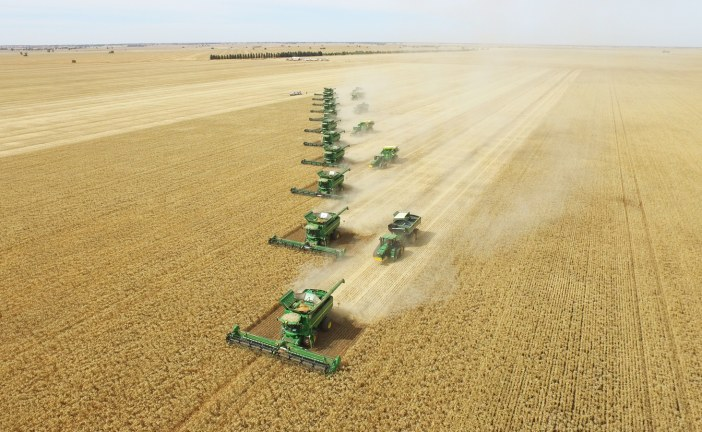 Farming at scale to feed the world