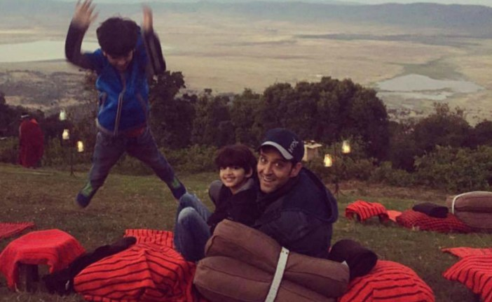 Hrithik Roshan: Indian Actor Shares Pictures of Sons on Vacation in Africa