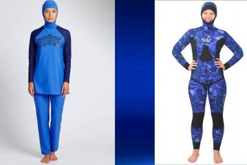 """""""One is a burkini, one is a wetsuit – one is illegal, one is legal"""" Dick Mullen"""