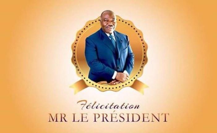 Fin de la spéculation, Félicitations Monsieur Le Président Bongo
