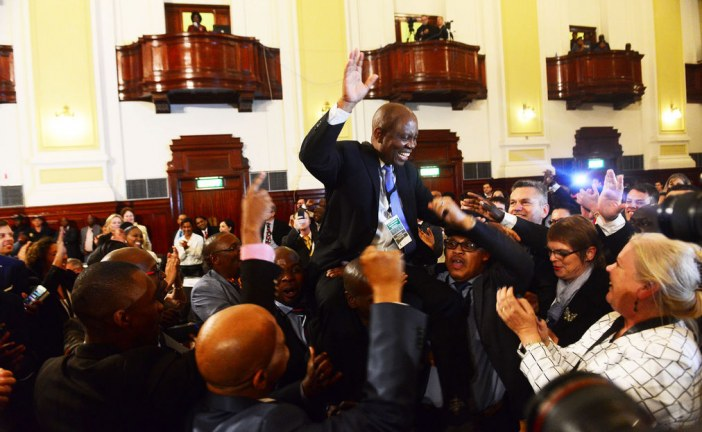 Tumultuous times for South Africa as it enters the era of coalition politics