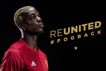 REUNITED POGBACK: World most expensive football player: Manchester United re-sign France midfielder for world-record £89m
