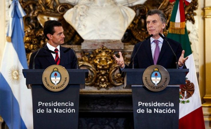 With Mexico Trade Overtures, Argentina's Macri Signals a Northern Opening