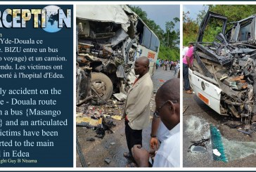 Ghastly accident on the Yaounde – Douala route