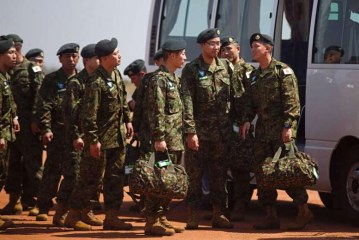Japanese troops land in South Sudan for first overseas combat mission since World War II