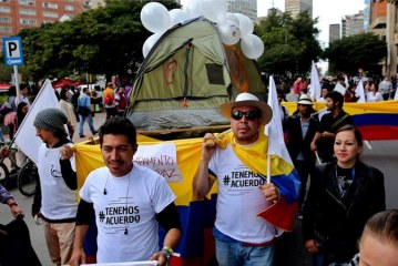 Two suspected FARC fighters killed in Colombia