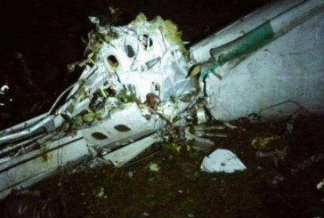 Brazil Chapecoense football team in Colombia plane crash