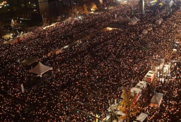 South Korean protests the first to bring down a president in a long history of civic activism