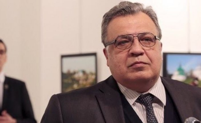 Russian ambassador to Ankara Andrey Karlov dies after gun attack