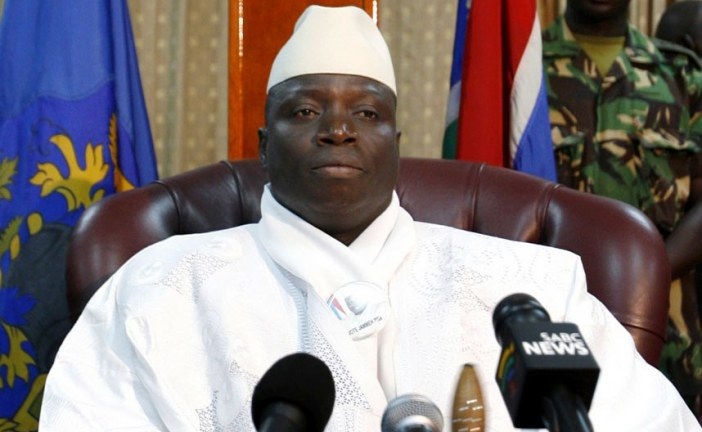 The Gambia president warns against election protest