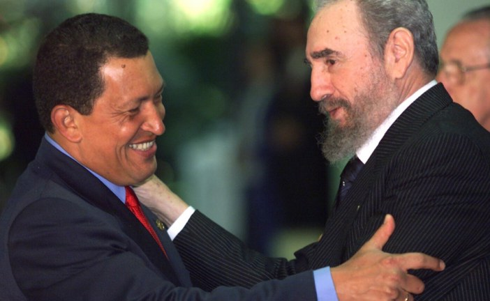 In crisis-stricken Venezuela, Fidel Castro's legacy lives on