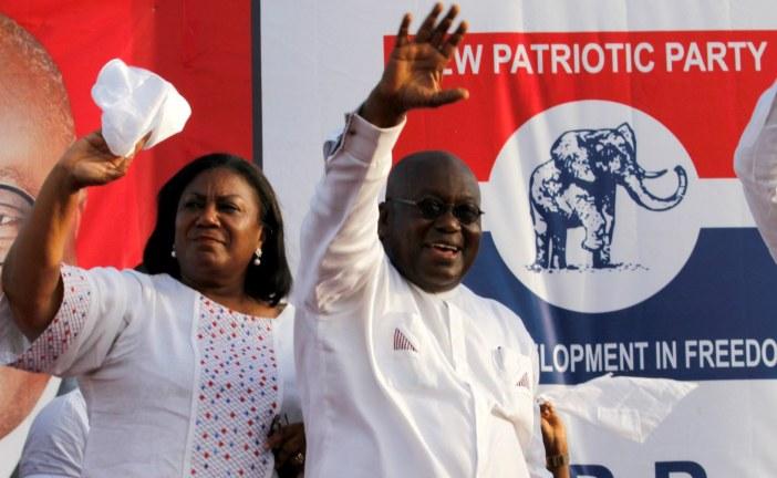 Ghana has elected Nana Akufo-Addo as its new president