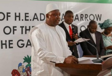 Gambia's Adama Barrow names Fatoumata Tambajang as VP
