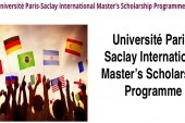 160 University of Paris-Saclay Scholarships for International Students in France, 2017