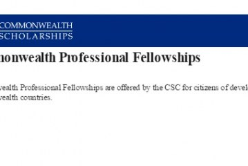 Commonwealth Professional Fellowships