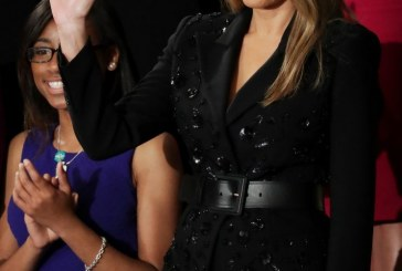 Melania Trump's $9,590 Sequined Skirt Suit Called 'Inappropriate' for Congress