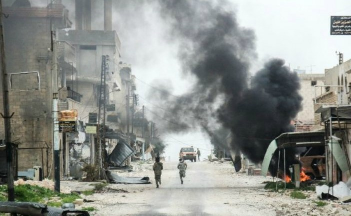 33 dead in US-led air strikes in Northern Syria School