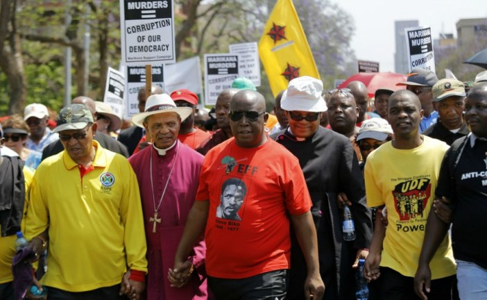 South Africa can't save itself just by talking the talk. It must walk the walk
