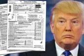 Donald Trump's 2005 tax return leak reveals $38m bill