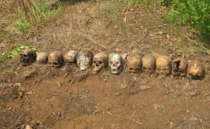 Mass graves found in Democratic Republic of Congo