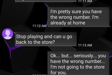 Man records hilarious text exchange he has with a mother who refuses to believe he isn't her daughter