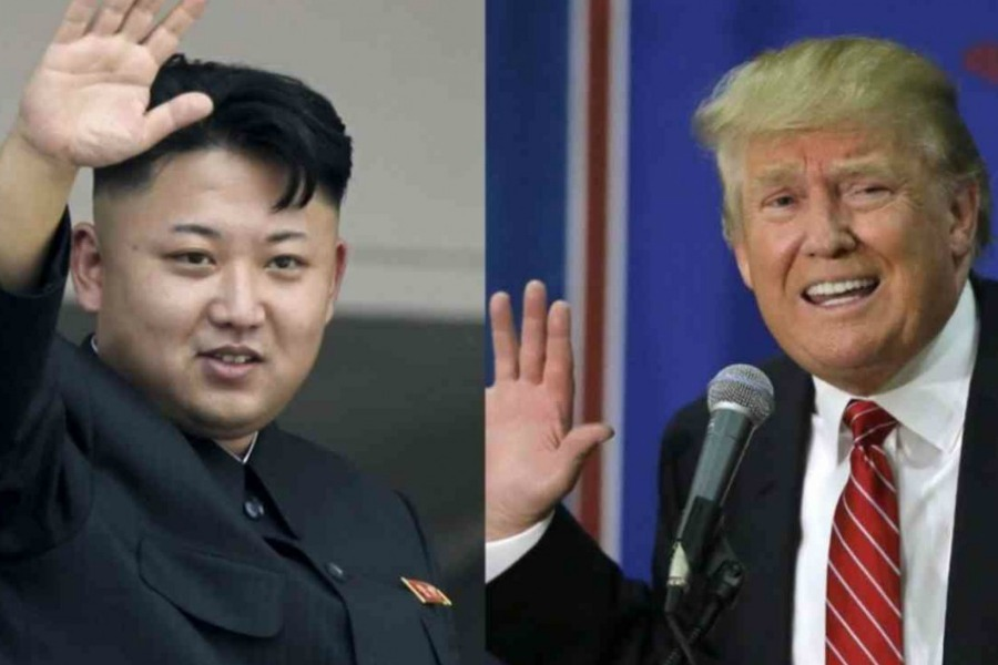 Donald Trump says 'major, major conflict' with North Korea possible, but seeks diplomacy