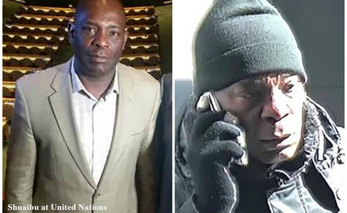A Nigerian journalist and former United Nations employee arrested for robbing banks during lunch break