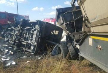 19 school children killed in school minibus crash in South Africa