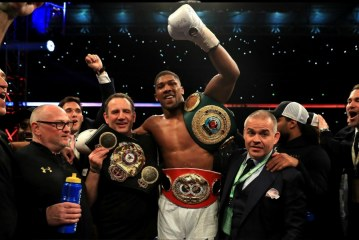 British heavyweight Anthony Joshua retains heavy weight title, defeats Wladimir Klitschko in epic Wembley battle