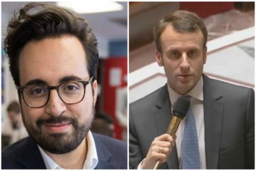 Moroccan Mounir Mahjoubi Macron's digital campaign manager, responsible for surprise rise