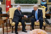 President Trump to work as 'mediator' for Israeli-Palestinian peace