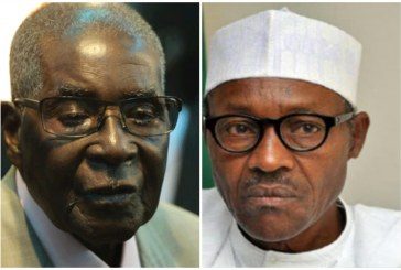 Mugabe and Buhari under fire on Twitter