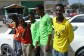 Students in Hargeisa, Somaliland, started a car-wash business to fund studies