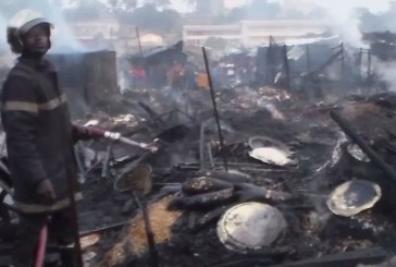 Cameroon North West: Biya Compensates Bamenda Food Market Fire Victims.