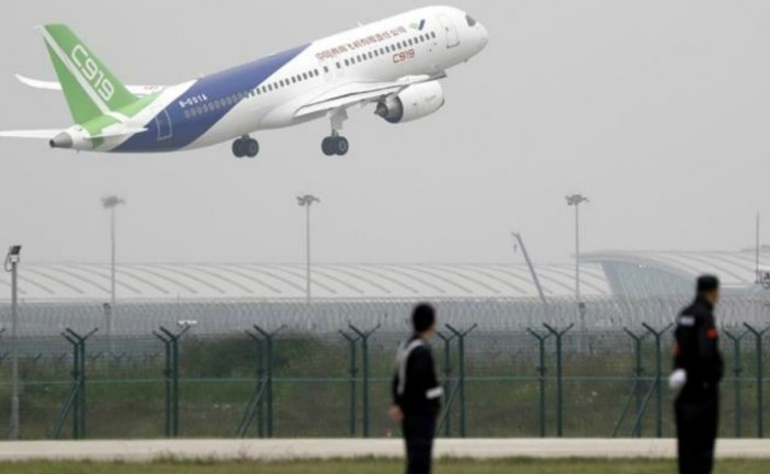 'Made in China' C919 passenger jet takes maiden flight