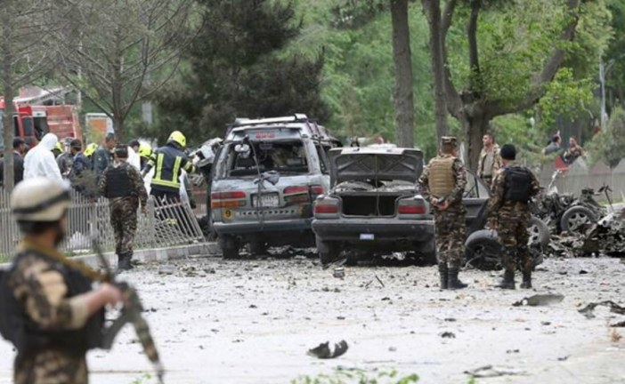 Blast hits NATO convoy in central Kabul