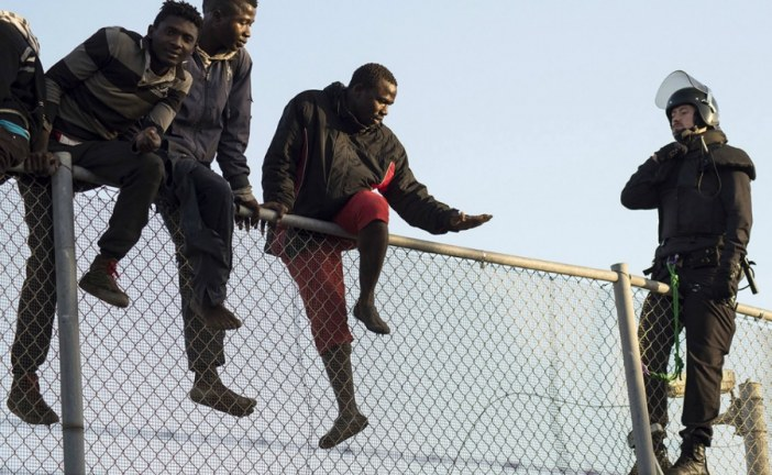 Europe's wall against African migrants is almost complete