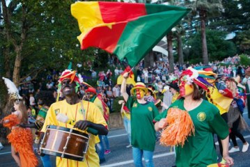 Racism Row: Russians parade in blackface ahead of Cameroon-Germany match