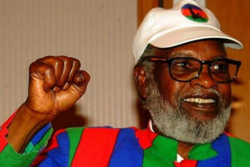 Namibia's Sam Nujoma celebrates 88th birthday