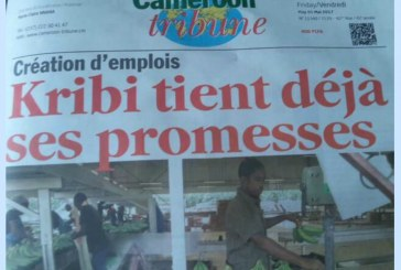 Création d'emplois: Kribi tient déjà ses promesses