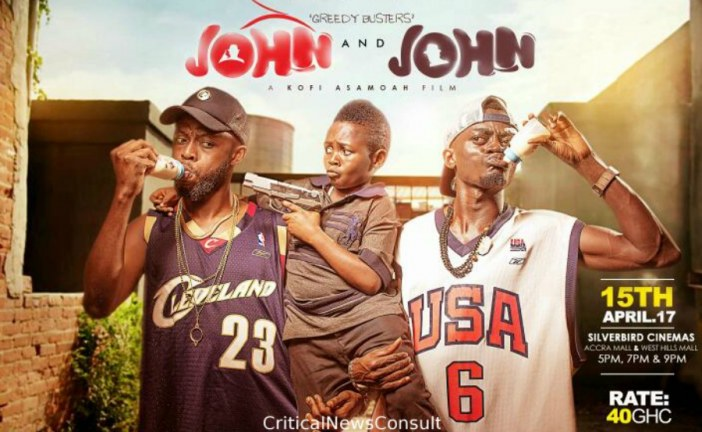 Ghanaian movie 'John vs John' is word for word rip off of 'SKEEM' says South African director