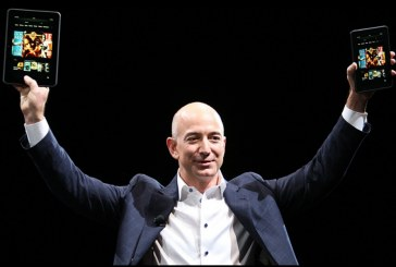 KING OF THE WORLD: Amazon founder Jeff Bezos becomes world's richest man
