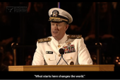 If you want to change the world, start off by making your bed. 10 life lessons from Admiral William H McRaven