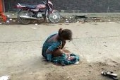 Indian girl, 17, forced to give birth on street, filmed moments after