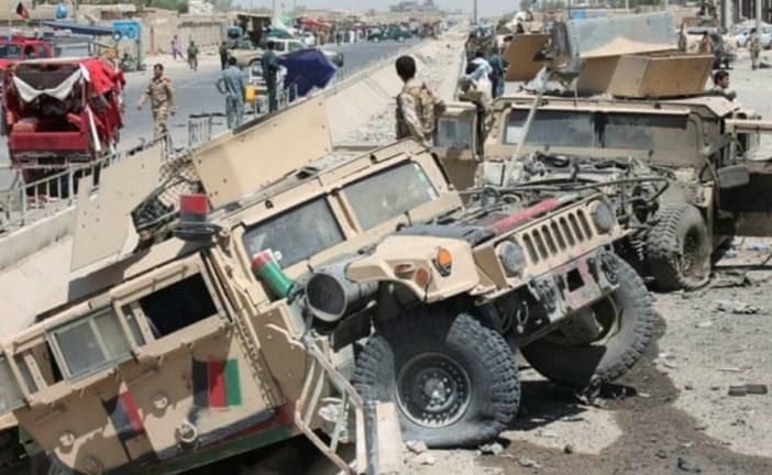 Taliban suicide bomber kills civilians in Helmand